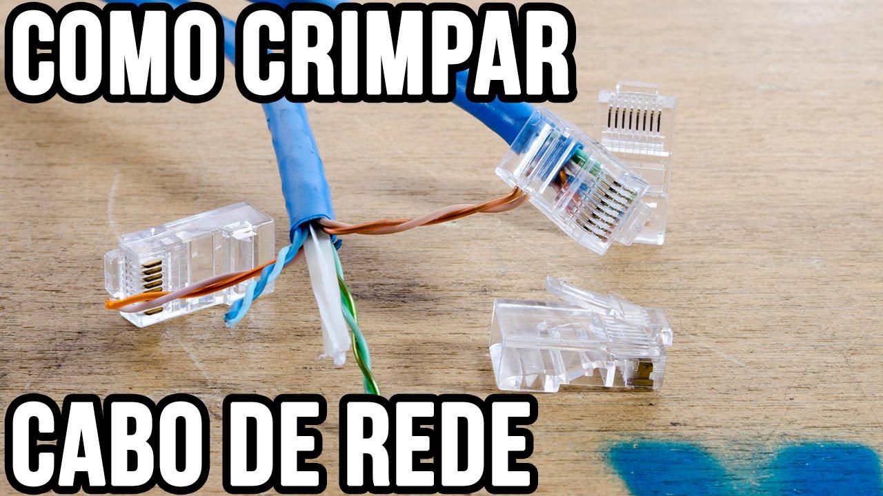 Como montar um cabo de rede